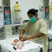 © Nagappa. Kalyandurg hospital NICU.