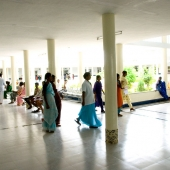 © Nagappa. Kalyandurg Hospital, the most popular in the region for pregnant & nursing mothers.