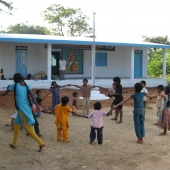 ©Nagappa. One of the schools constructed by WDT.