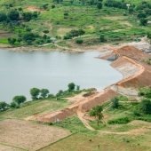 © Nagappa . One of the check dams constructed by WDT