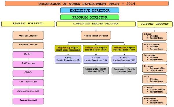 WDT Organogram