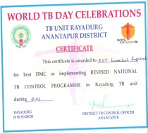 World TB Day Celebrations